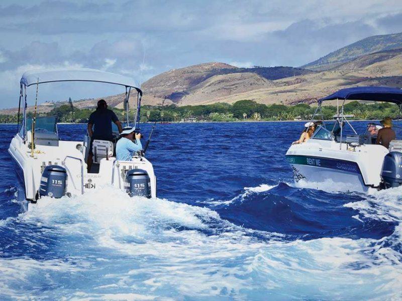 Rent a boat Maui